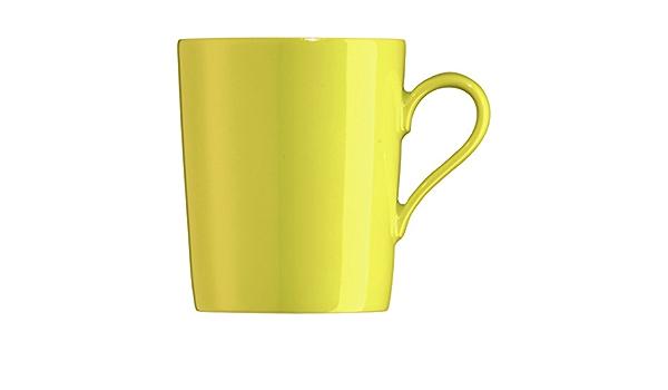 Arzberg Tric Becher sun gelb Kaffeebecher Porzellan