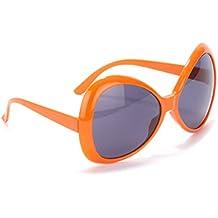 Lunettes disco adulte orange