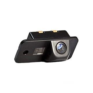 Akhan CAM22-6 - Farb Rückfahrkamera, Einparkhilfe, Kamera für Nummerschildbeleuchtung, Kennzeichenbeleuchtung