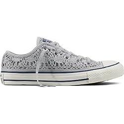 Converse Chuck Taylor All Star Crochet Metallic Sneachers Donna Donna Mod. 556825C 7 37.5
