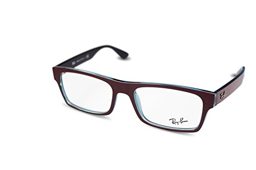 Ray Ban Optical Für Mann Rx7030 Marc / Transparent Oil Kunststoffgestell Brillen, 55mm