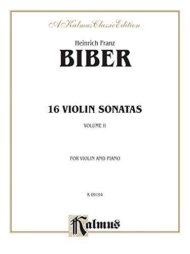 16 Violin Sonatas (Kalmus Edition)
