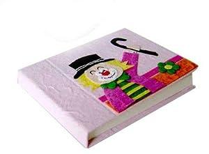 Disok- Set 12 libretas de notas, con modelo payaso, Multicolor (3041)