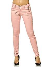 Elara Damen Stretch Hose Push Up Jeans Chunkyrayan