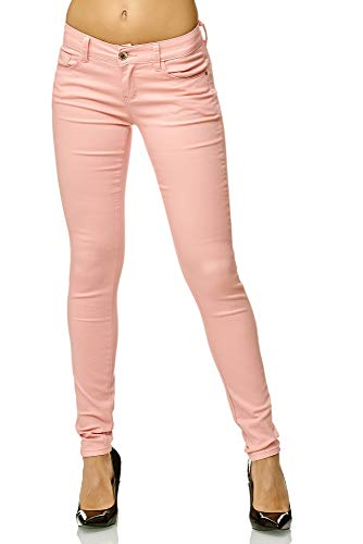 Elara Pantalones elásticos de la Mujer | Butt Lift | Skinny Jeans | Elástico Pretina | Slim Fit |...