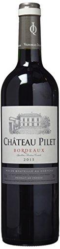 Chateau Pilet Vino Bo. Tinto de 13º - 3 Paquetes de 750 ml - Total: 2250 ml