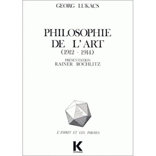 Philosophie de l'art, 1912-1914