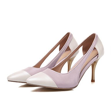 Moda donna sexy sandali scarpe donna Punta tacchi party di nozze & abito da sera Stiletto Heel donne pompa Light Blue