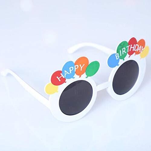 Macxy - Lustige Strand-Party Neuheit Flamingo-Partei-Dekorationen Hochzeitsdeko Ananas Sonnenbrille Hawaii-Party Brille Eventdekoration [2]