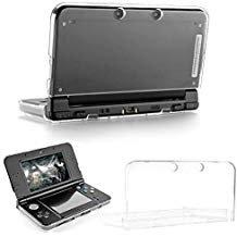 TRADERPLUS Schutzhülle für Nintendo 3DS XL/LL (Kratzfest) transparent