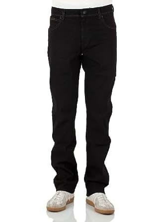 WRANGLER - Jeans Homme - W121S751T Texas Stretch Tough Mid - raven (44M), 36W / 32L