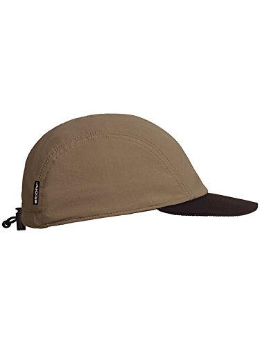 Stöhr Erwachsene Neopren Visor Cap Kappe, braun, One Size