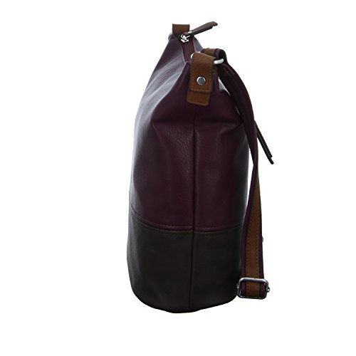 Tom Tailor 22024-48 Tasca Con Zip Da Donna Rossa (rossa)