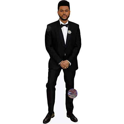 Mini Bow Tie (Celebrity Cutouts The Weeknd (Bow Tie) Pappaufsteller Mini)