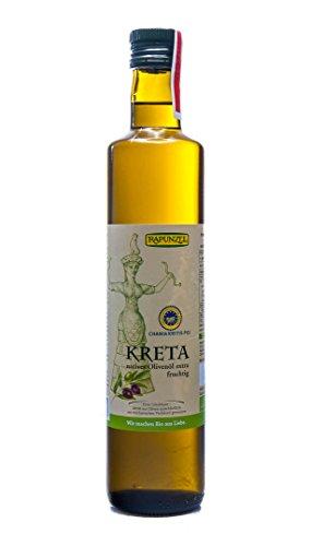 Rapunzel Bio Olivenöl Kreta P.G.I., nativ extra (2 x 0,50 l)