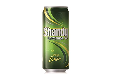 Cruzcampo Shandy Beer with Lemon - 33 cl