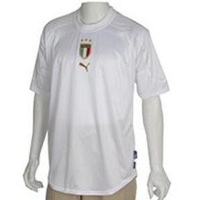 Puma italie maillot mixte jersey taille s (blanc)
