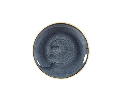 Churchill Stonecast Blueberry Evolve Coupe Teller, 16,5cm, 12 Stück Blueberry Coupe