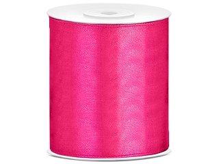 Tischband Satinband pink, 25 Meter x 10 cm
