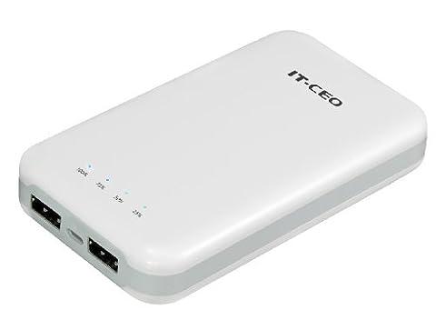 U6710 - 10.000mAh batterie externe, batterie portable de secours avec