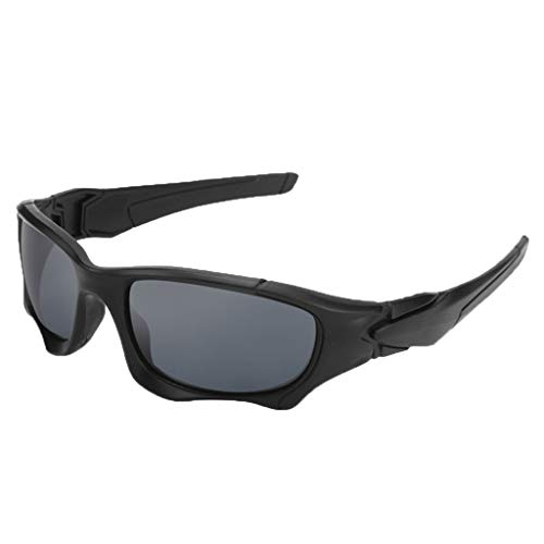 fazry Herren Damen Retro Draussen Sport Sonnenbrille Brille Brillen (C)