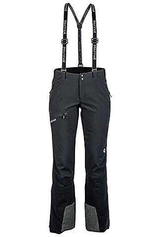 Marmot Pro Tour Pant Pantalon softshell, Black, 02
