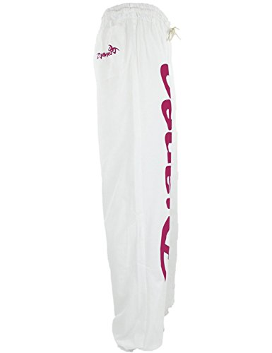 Jogginghose Herren und Damen. Sporthose Djaneo Rio Baumwolle. Hosen in 35 farben. Weiß