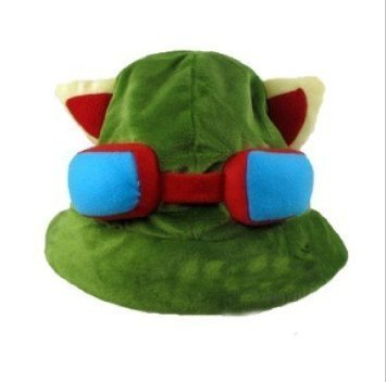 TEEMO Mütze League of Legends LOL - perfekt für Fasching, Karneval & Cosplay - Kostüm für Erwachsene & Kinder - Unisex - League Of Legends Cosplay Kostüm