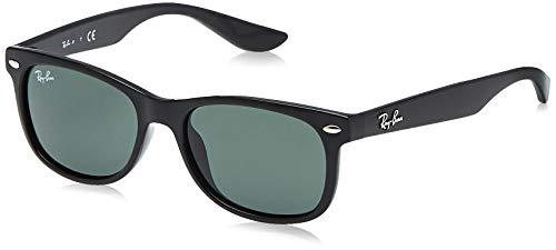Ray-Ban Junior NEW WAYFARER Black Green Classic G-15 47mm RJ9052S 100/71 Sunglasses