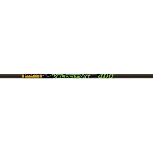 Gold Spitze Velocity XT 400Carbon Pfeil Schaft 12Stück -