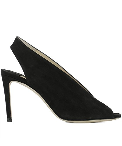 Jimmy-Choo-Womens-SHAR85SUEBLACK-Black-Suede-Sandals