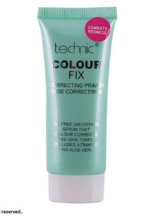 Technic Colourfix Maquillaje Base Correctora PREBASE - Combate Enrojecimiento (Verde)