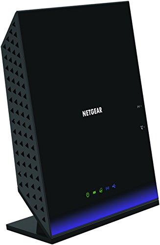 NETGEAR D6400-100UKS AC1600 Dual Band 300 + 1300 Mbps Wireless (Wi-Fi) VDSL/ADSL Modem Router for Phone Line Connections (BT Infinity, YouView, TalkTalk, EE and Plusnet Fibre) (Amazon Echo Enabled) Test