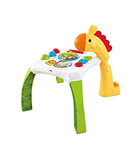 Fisher-Price - Mesa de actividades jirafita Juguetes bebés +6 meses (Mattel CCP66)