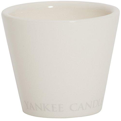 YANKEE CANDLE 1331980 Photophore, Céramique, Blanc, Taille Unique