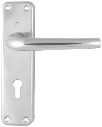 Hoppe Seattle 168L/267 87142427 - Manilla para puerta con cerrojo