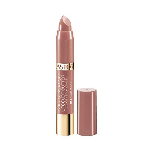 Astor Soft Sensation Lipcolor Butter, 014 Amazone Chic, pflegender Lippenstift, 1er Pack (1 x 5 g)