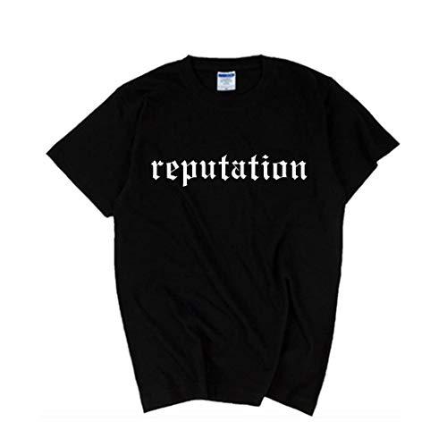 Taylor Swift Männer Frauen Ruf Druck T-Shirt Sommer Oansatz Kurzarm T Tops (Herren T-shirt Taylor Swift)