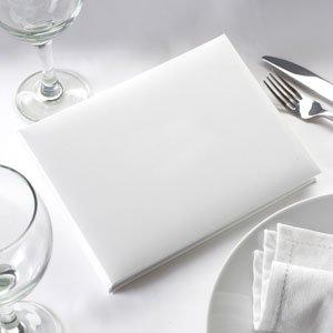 Weiß Uni Gästebuch für Hochzeiten, Partys oder Kondolenzbuch, englischsprachig