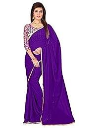 Roop Sangam Chiffon Saree (Toot304_Purple)