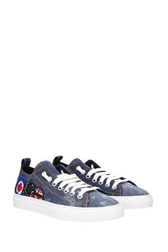 Sneakers Dsquared2 basquettes Homme - Tissu (SN1161246) EU Bleu