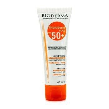 Bioderma - Photoderm Max Tinted Sun Cream Spf50+ (Golden Colour) 40Ml/1.35Oz - Soins De La Peau