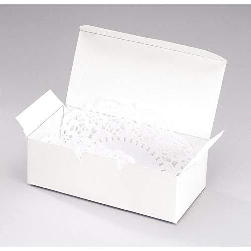 Bulk Buy: Darice DIY Handwerk Kuchen Box Pearl Weiß 14x 4,4cm 20Teile (6er Pack) 1404-28