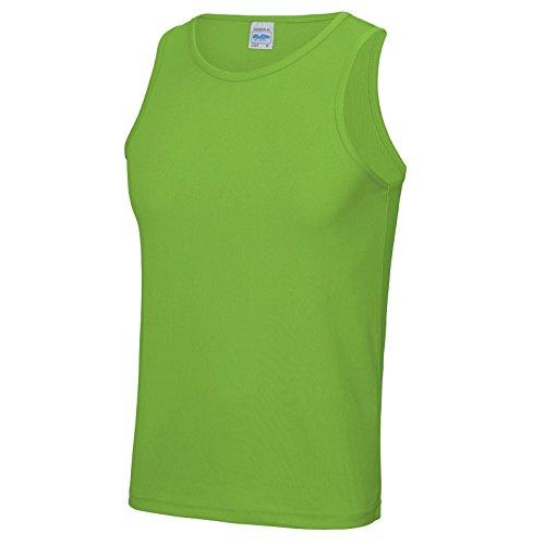 AWDis Herren Modern T-Shirt Lindgrün