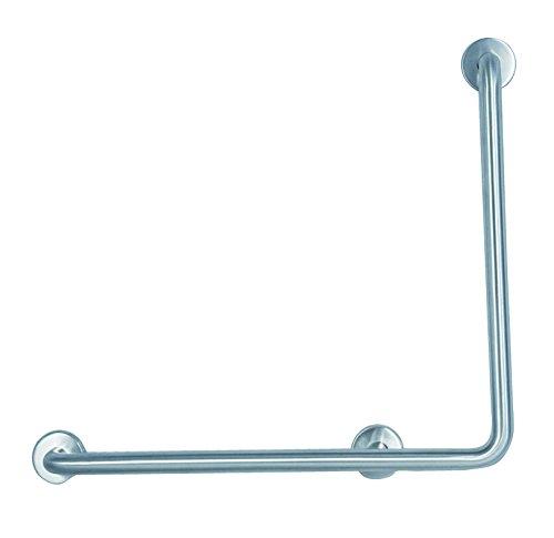 Aqualy® - Asidero apoyo pared brillo izquierdas para baño