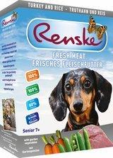 RENSKE FRESH MEAT MENU - TURKEY - 10 x 395 g from RENSKE