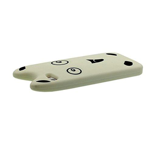 Apple iPhone 5 5S SE 5C Coque Protection Case, 3D Dessin animé Anime Hamster Forme Housse de Protection Souple Élastique Silicone Fine Poids Léger color-3