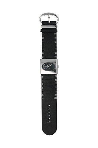 Just Cavalli R7251700015 - Reloj de Pulsera Mujer, Piel, Color Negro
