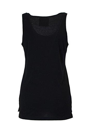 Pyrex Damen T-Shirt Tank Top Jersey 28910 Schwarz