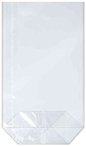 BUDILA® 100 Gebäcktüten klar transparent 115x190mm Made in Germany